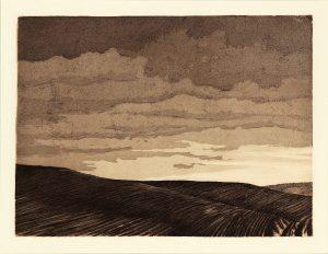 Landscape etching